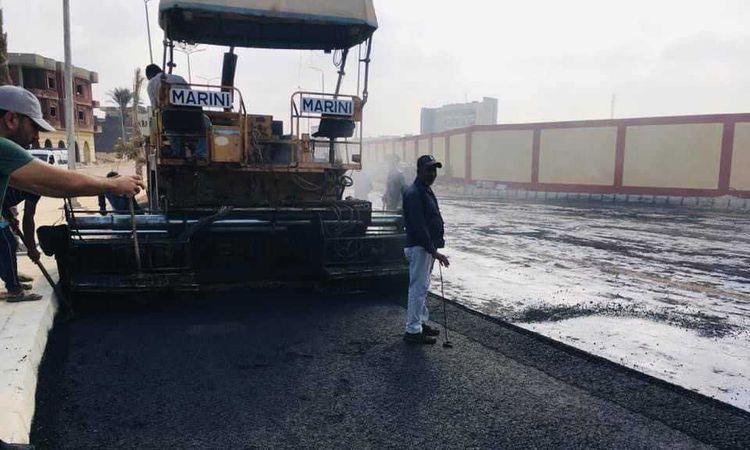 تطوير ميدان ميناء العريش
