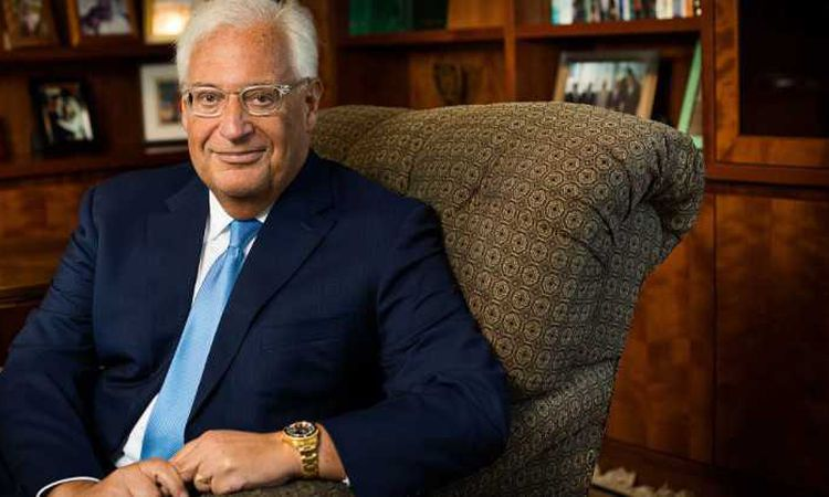 سفير واشنطن في اسرائيل