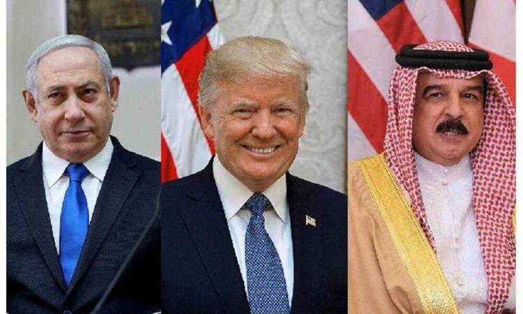 ملك البحرين وترامب