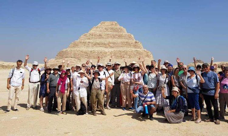 منطقة آثار سقارة تستقبل أول فوج سياحي اليوم
