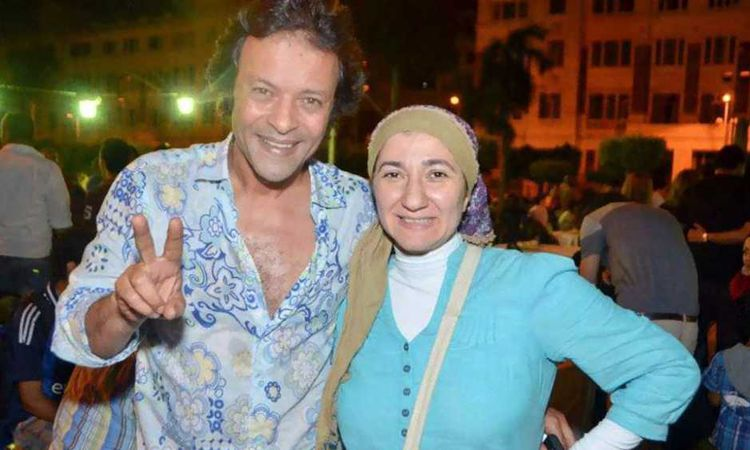 هشام عبدالله وزوجته