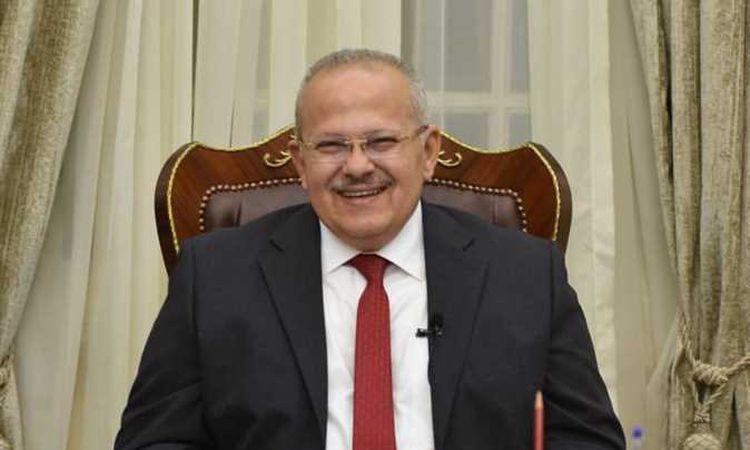 محمد عثمان الخشت رئيس جامعة القاهرة،