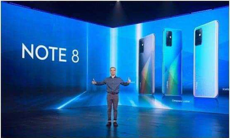 INFINIX تطلق هاتف نوت 8